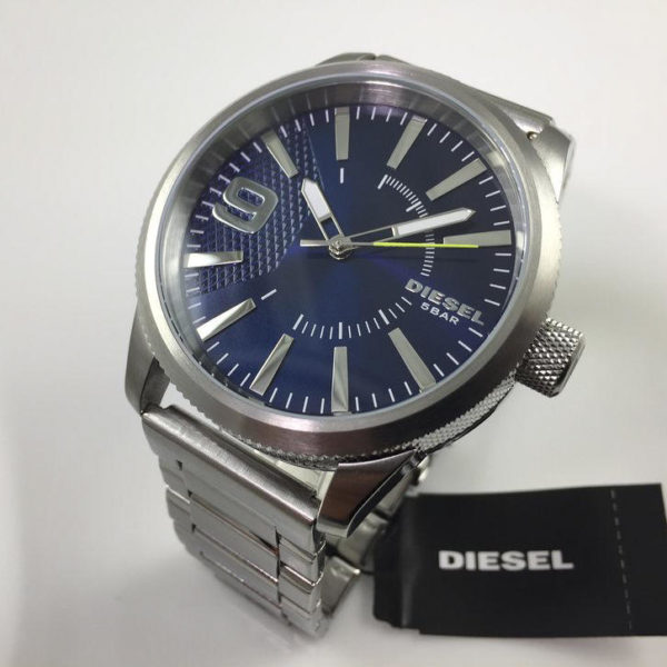 Men S Diesel Rasp Stainless Steel Watch Dz1763 11
