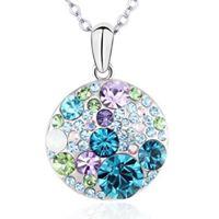 Ogrlice Swarovski Elements  Ogrlice su izrađene od originalnih Swarovski elements kristala i kvalitetnih metala.