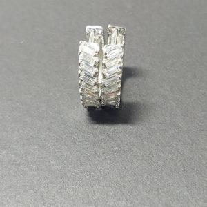 Naušnice srebro 12128